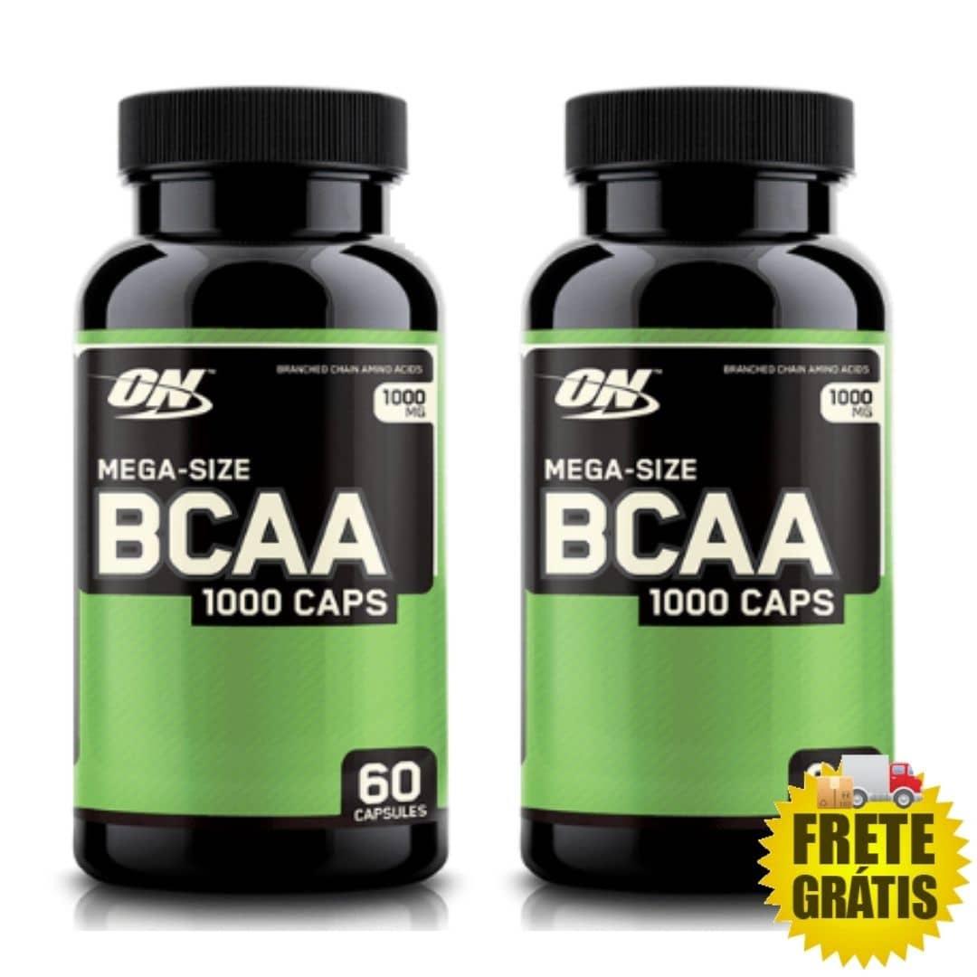 2 Potes BCAA ON (60 + 60 cápsulas)