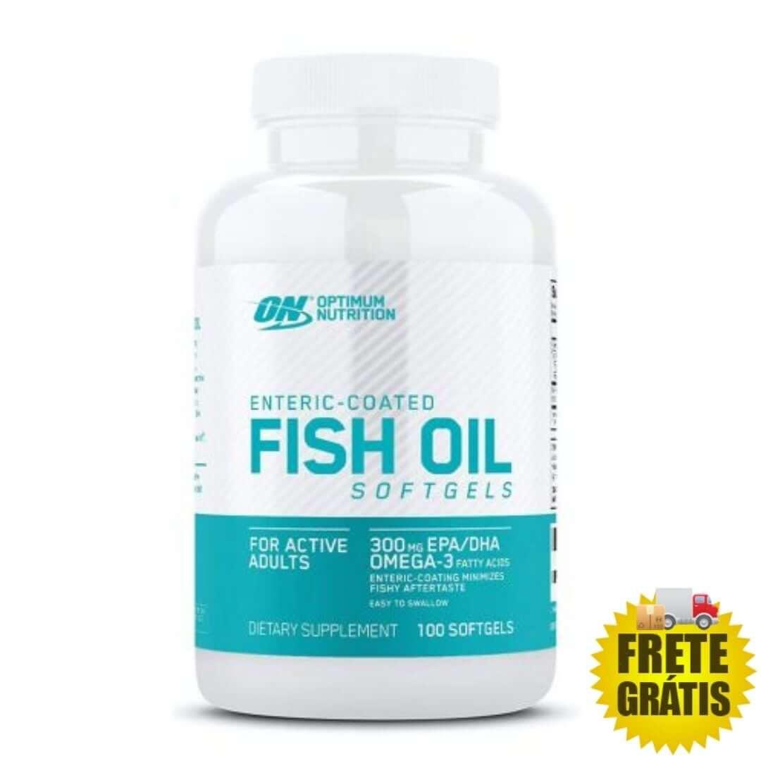 Ômega 3 Fish Oil Optimum Nutrition - 200 cápsulas