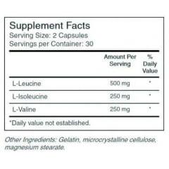 BCAA 1000 ON - Optimum Nutrition - 60 cápsulas