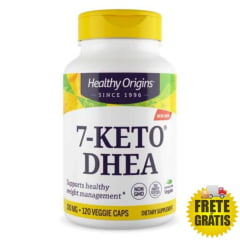 7-Keto DHEA 100mg Healthy Origins - 60 ou 120 cápsulas