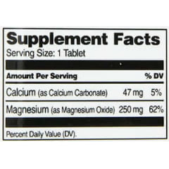 Óxido de Magnésio 250mg 21st Century - 110 tabletes