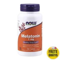 Melatonina 1mg NOW - 100 tabletes