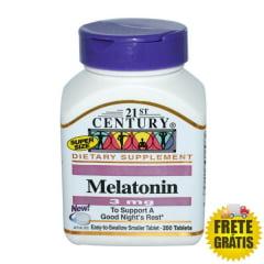 Melatonina 3mg 21st Century - 200 tabletes