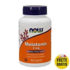 Melatonina 3mg NOW - 180 comprimidos