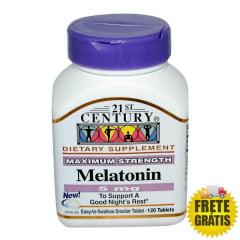 Melatonina 5mg 21st Century - 120 tabletes