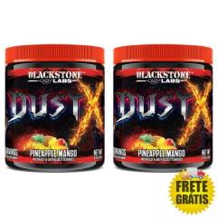 2 Potes Pré-Treino Dust X com DMHA - Blackstone Labs