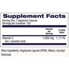 Vitamina C 1000mg Healthy Origins